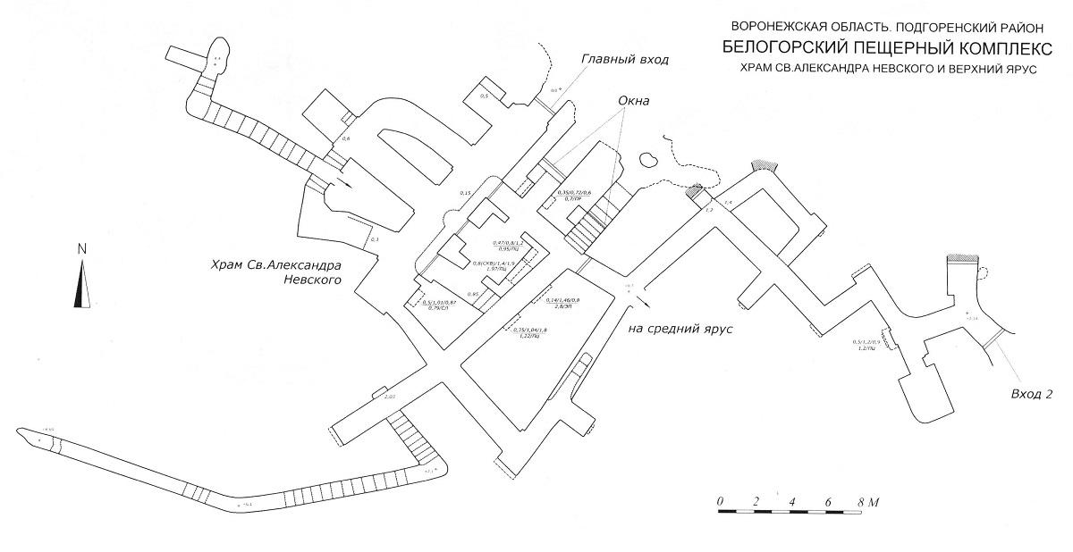 Белогорский монастырь схема проезда